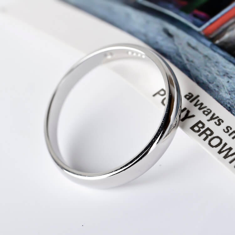 925 Sterling Silver Hidden Message Ring - onlyone