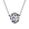 925 Sterling Silver Hollow Charm For Bracelet and Necklace - onlyone