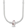 925 Sterling Silver Magic Bubble Glass Charm for Bracelet and Necklace - onlyone