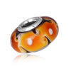 925 Sterling Silver Murano Glass Charm for Bracelet and Necklace - onlyone