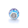 925 Sterling Silver Abstract Painting Craft 925Colorful Charm for Bracelet and Necklace - onlyone