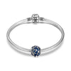 Sterling Silver Blue Seaweed Charm For Bracelet and Necklace - onlyone