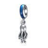 925 Sterling Silver Octopus Charm Fit for Bracelet and Necklace - onlyone