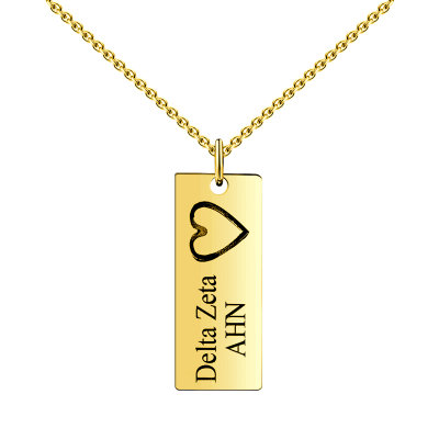 Engraved Vertical Bar Name Necklace-Bar Necklaces-YAFEINI-yafeini-personalized-custom-jewelry