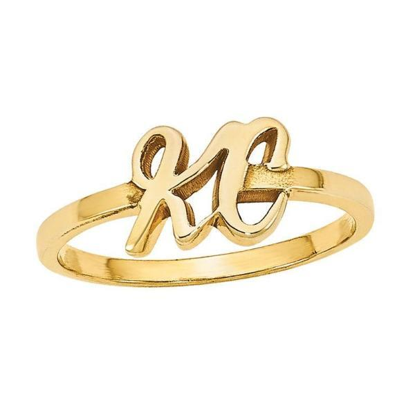 Personalized Initial Ring-Personalized Rings-YAFEINI-yafeini-personalized-custom-jewelry