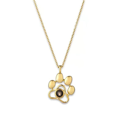Pet Paw Love Project Necklace
