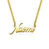 925 Sterling Silver Tiny Name Necklace Nameplate Necklace - onlyone