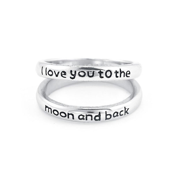 Personalized Double Band Engraved Ring-Personalized Rings-YAFEINI-yafeini-personalized-custom-jewelry
