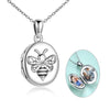 925 sterling silver bee-lieve photo necklaces - onlyone