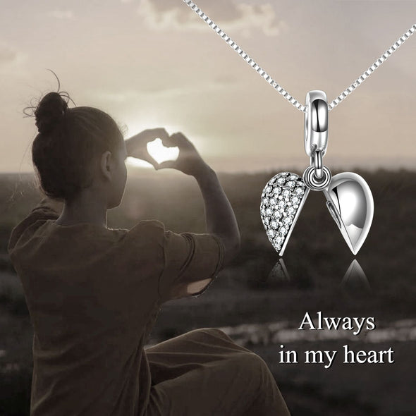 925 sterling silver Heart belongs to you urn necklace Cremation Jewelry for Ashes - onlyone