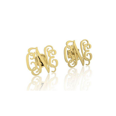 10K/14K Gold Personalized Initial Name Earring - onlyone