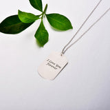 Engraved Photo Necklace-Photo Engraved Necklaces-YAFEINI-yafeini-personalized-custom-jewelry