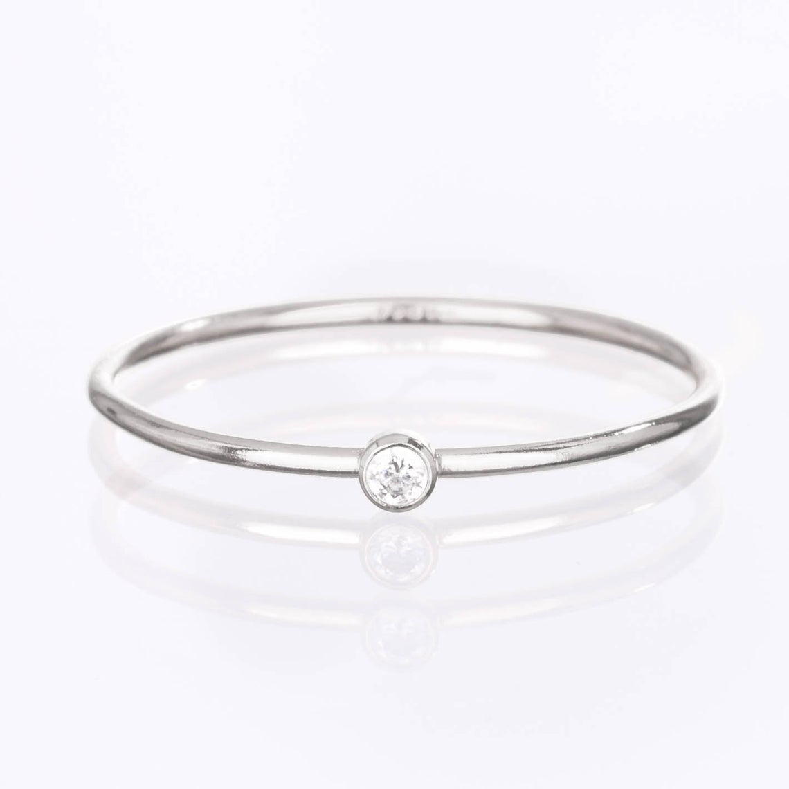 925 Sterling Silver Birthstone Ring