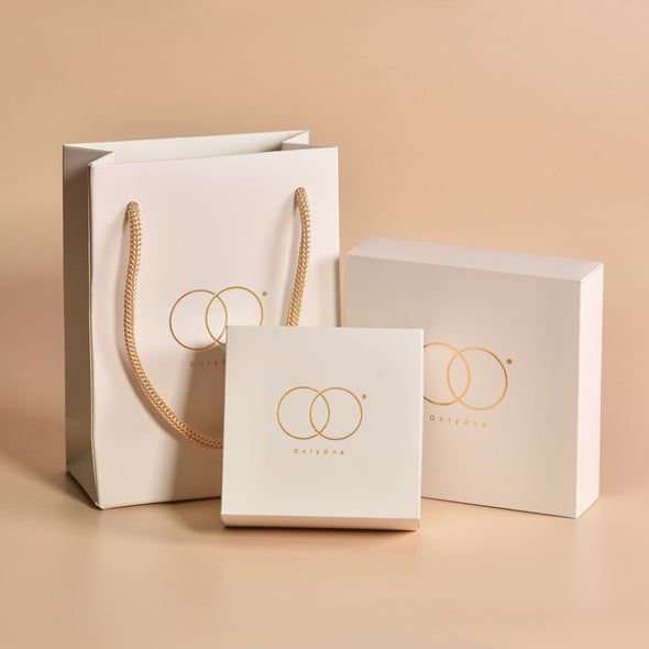 925 Sterling Silver Personalized Circle Initials Monogram Earrings - onlyone