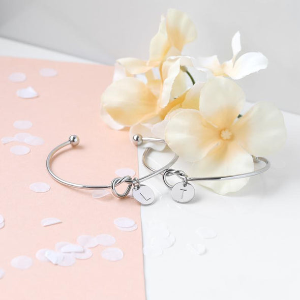 Customized Bracelet for Women Personalized Bracelet Charm Bracelet Best Gifts Maid of Honor Gift Flower Girl Mother of the Bride - KBR - onlyone