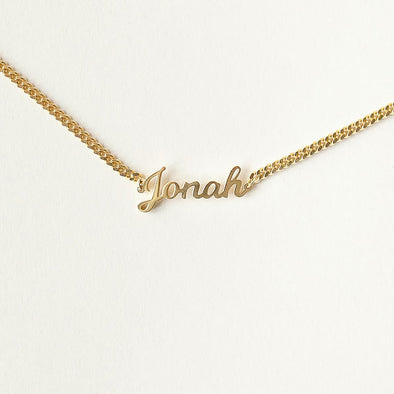 925 Sterling Silver Name Bracelet In Side Chain