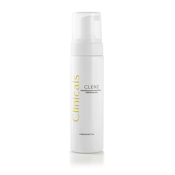 CLENZ Hydrating Antioxidant Facial Cleansing Foam