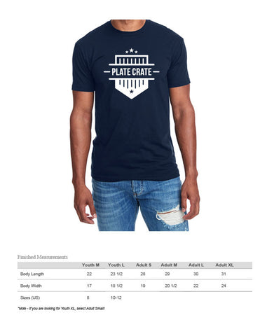 Plate Crate Shirt Size