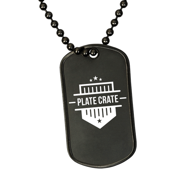 PlateCrate Dog Tag 'Mo Money image 1