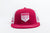 red mesh trucker hat image 3