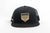 black and gold mesh trucker hat image 3