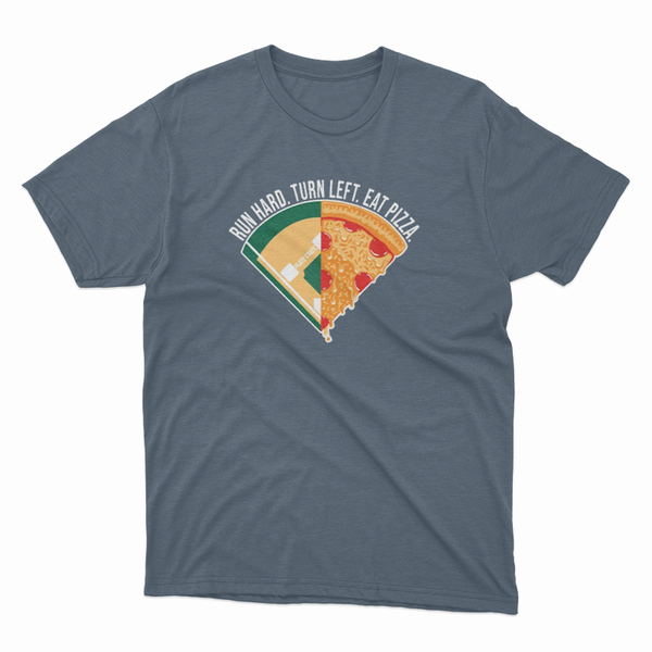 plate crate pizza t shirt image 1