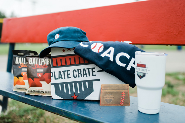 baseball coach plate crate