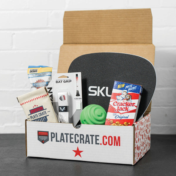 Baseball Crate Gift - 12 Month Prepaid