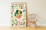 "Poppik - Sticker poster ""Forest"""