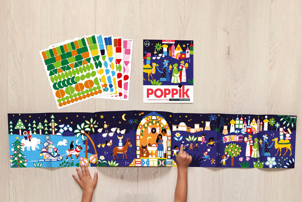 "Poppik - Sticker mosaic ""Christmas"""