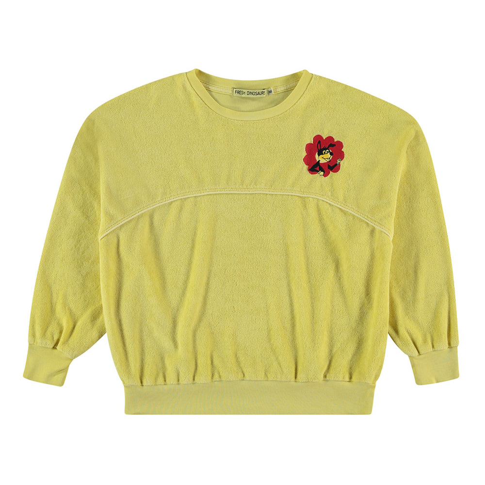 "Towel Sweatshirt ""Flower Power'"