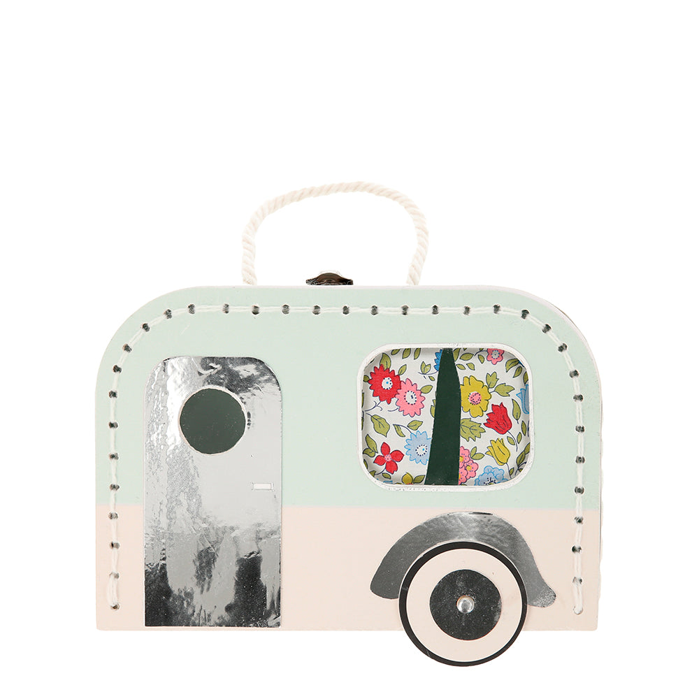 Caravan Bunny Mini suitcase doll