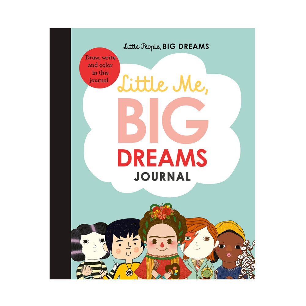 Little Me, BIG Dreams journal - Draw, write and colour