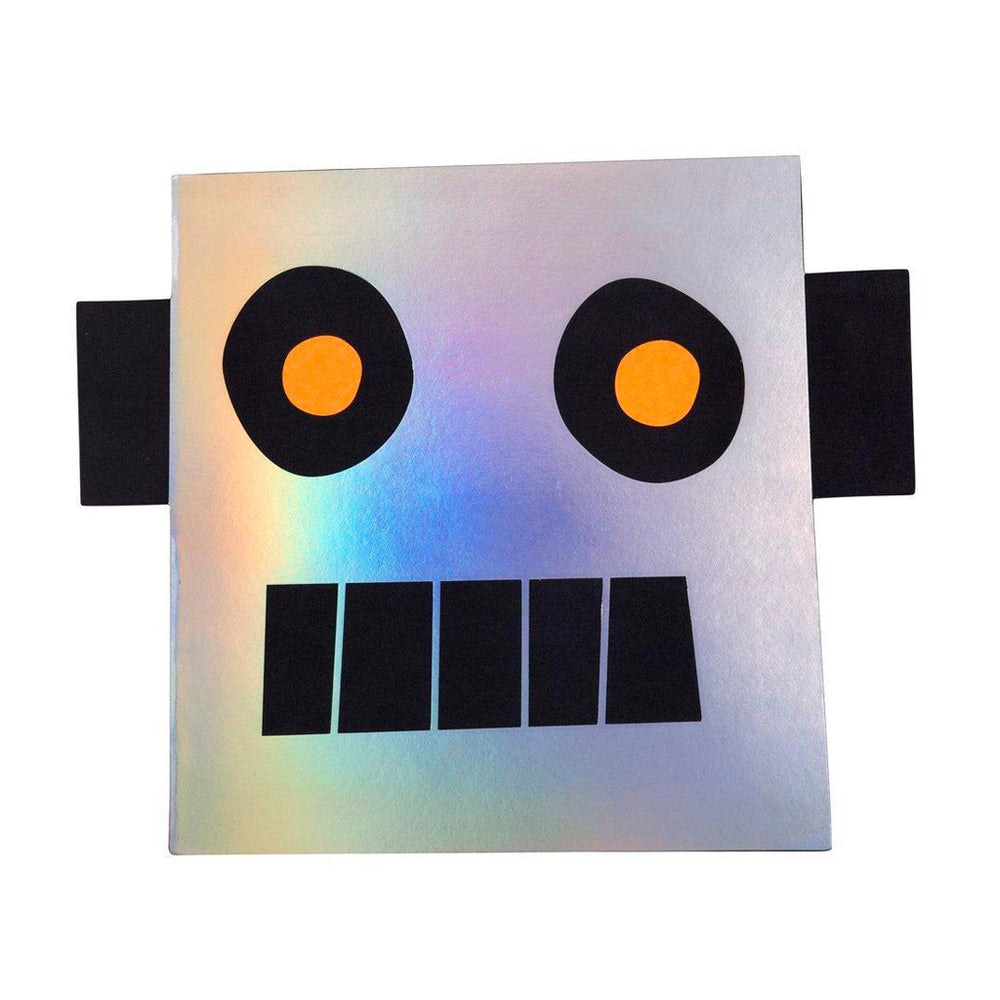 Meri Meri Robot sticker and sketch book