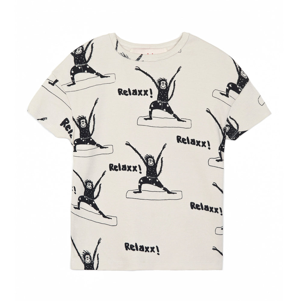 T-shirt 'Yoga Monkeys'