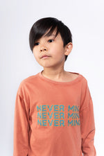 "Long sleeve t-shirt ""Never Mind"""