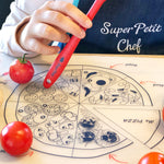 Super Petit Chef mat - Pizza