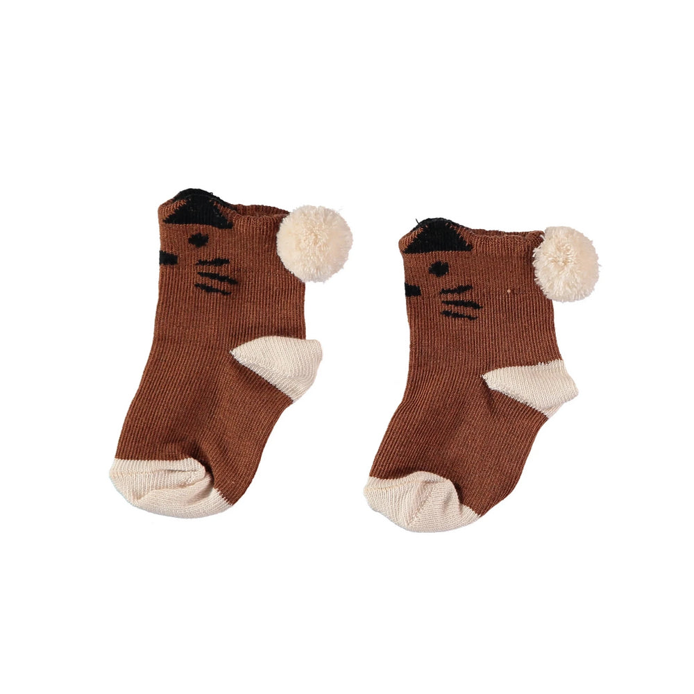 Tiger Melange Socks