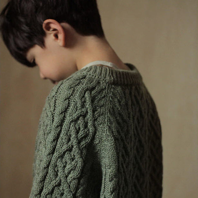 Cable Knit Jumper (2 colours)