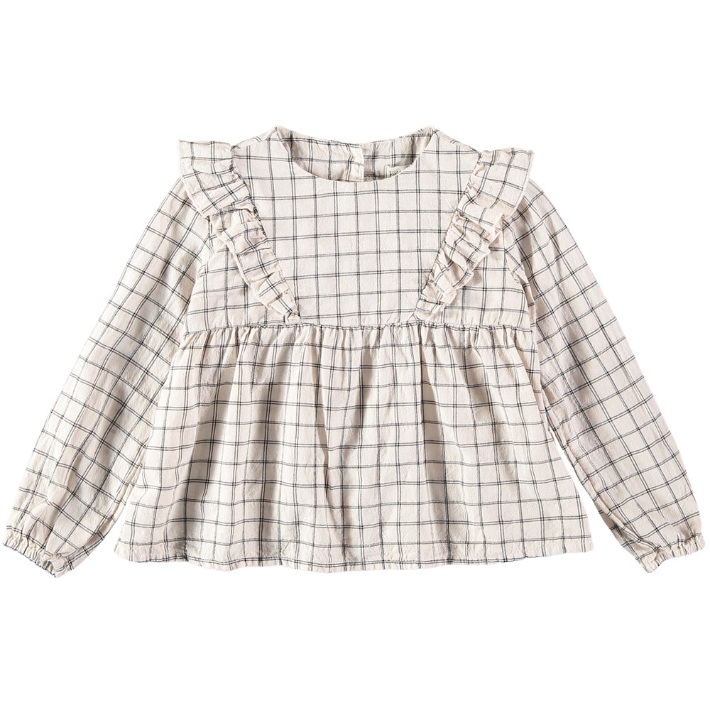 Julia Check blouse