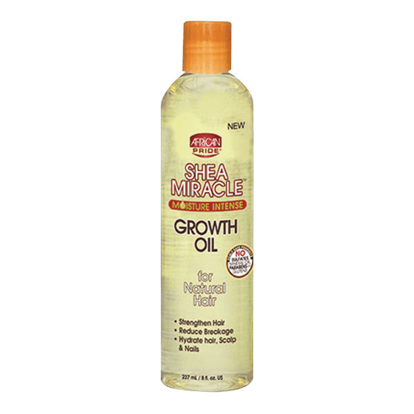 African Pride Shea Miracle Growth Oil 8oz