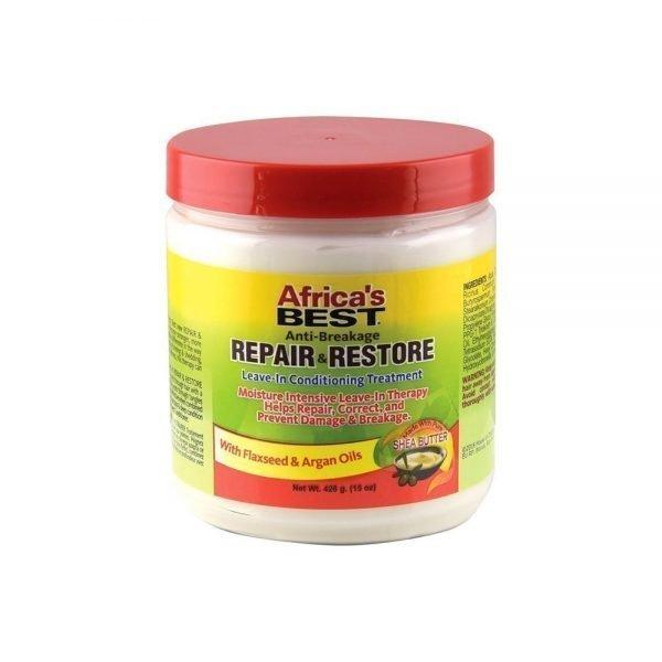 Africa's Best Anti-Breakage Repair & Restore Leave-In Conditioning Treatment 15oz