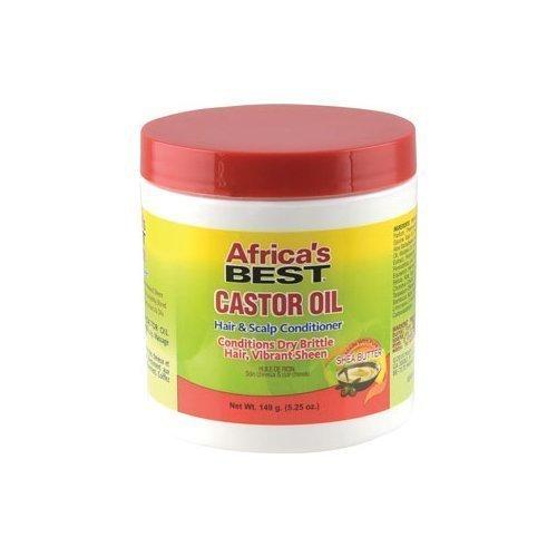 Africa's Best Castor Oil Hair & Scalp Conditioner 5.25oz