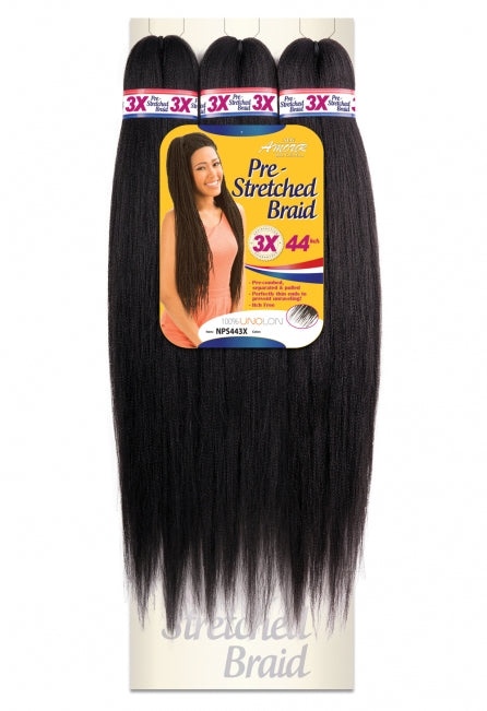 Chade Amour 3X Natty Pre-Stretched Synthetic Hair Braid 44""