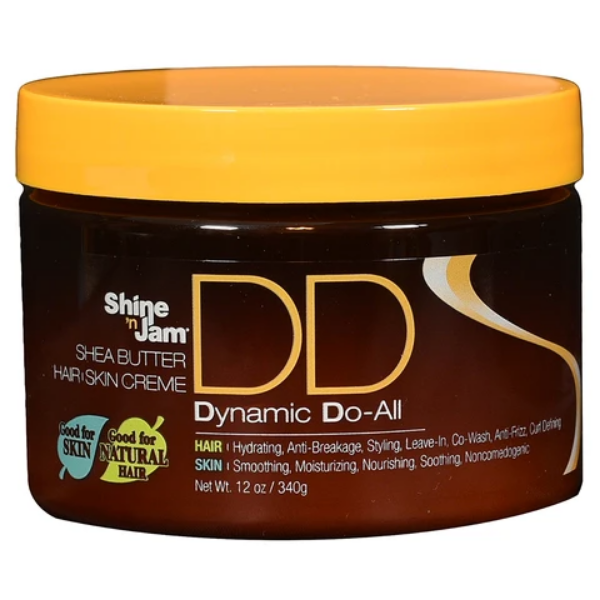 Ampro Pro Styl Shine 'N Jam DD Dynamic Do-All Shea Butter Hair & Skin Creme 12oz
