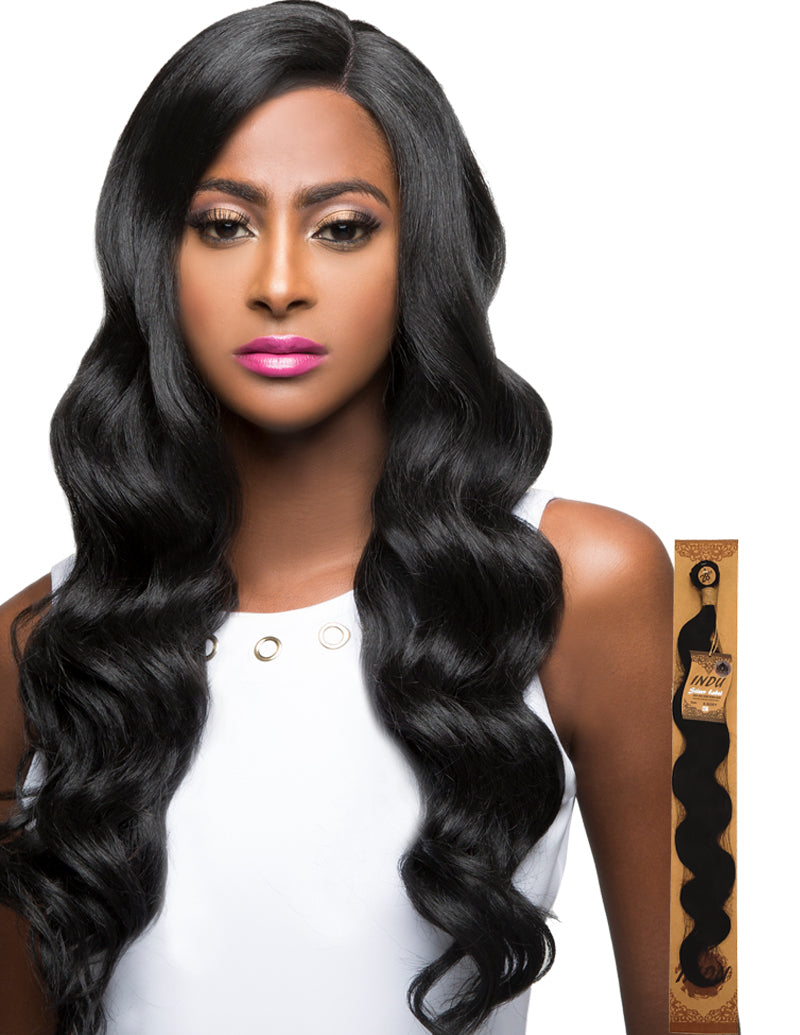 Amy Aviance Indu Silver Label 7A+ 100% Raw Brazilian Human Hair Weave Single Bundle S-Body Wave