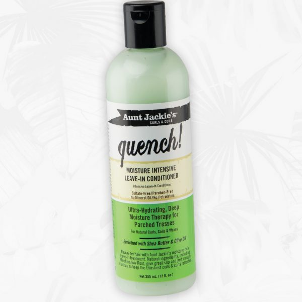 Aunt Jackie's Quench! Moisture Intensive Leave-In Conditioner 12oz