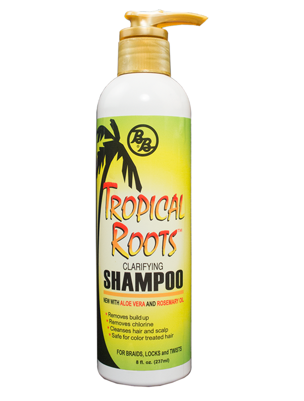 Bronner Brothers Tropical Roots Clarifying Shampoo 8oz