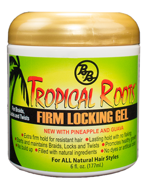 Bronner Brothers Tropical Roots Firm Locking Gel 6oz