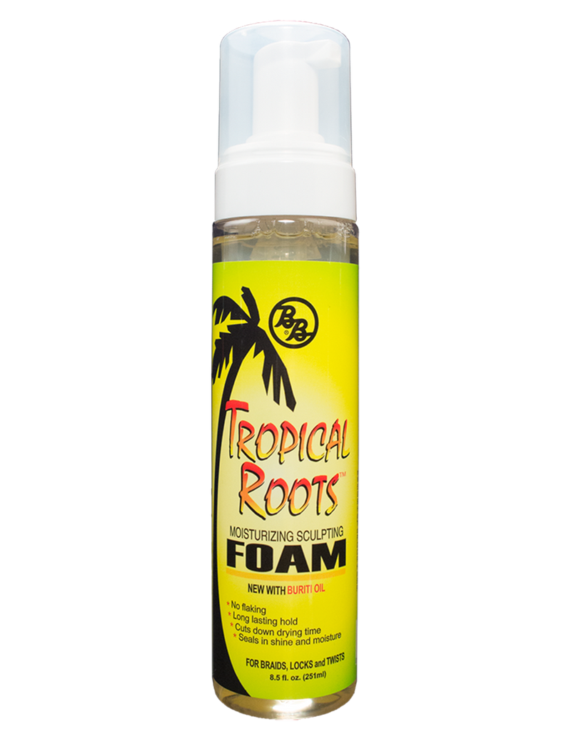 Bronner Brothers Tropical Roots Moisturizing Sculpting Foam 8.5oz